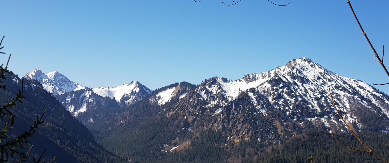 Wanderung Fockenstein - Blick nach Süden