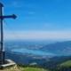 Wanderung auf den Hirschberg - Gipfelblick