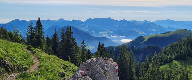 Wanderung Großer Traithen - Fellner Joch