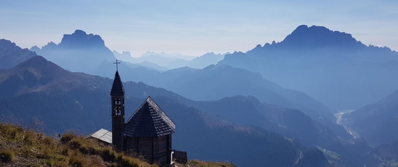 Meine TOP-3-Wanderungen im Gadertal - Col di Lana, Kapelle am Gipfel