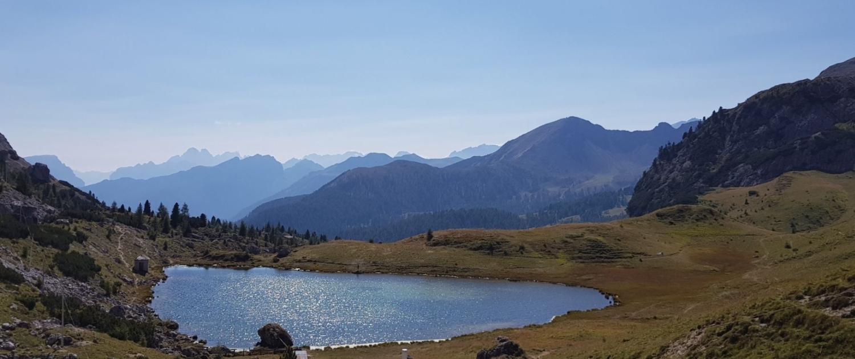 Meine TOP-3-Wanderungen im Gadertal - Col di Lana, Valparolapass und See
