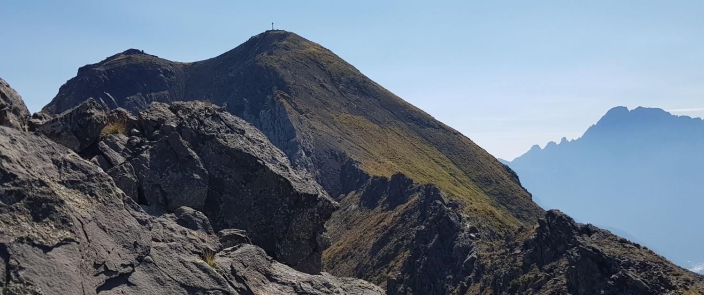 Col di Lana - Gadertal, Abstieg über Dente Sief