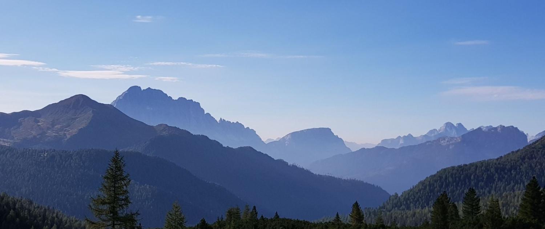 Col di Lana - Gadertal, Fernblick