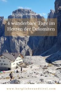 Pin Dolomitenhöhenweg Nr. 2