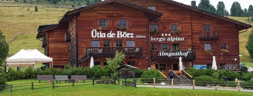 Unterwegs auf dem Dolomitenhöhenweg Nr. 2