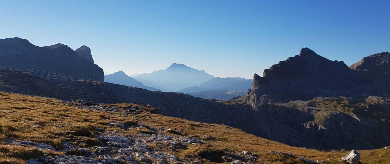 Unterwegs auf dem Dolomitenhöhenweg Nr. 2: Forcella de Ciampei