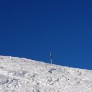 Hirschberggipfel im Winter