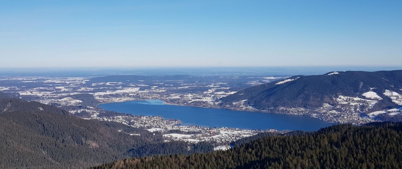Blick Tegernsee