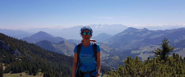 Wanderung auf die Lacherspitze - Fernblick oberhalb des Lacherkars