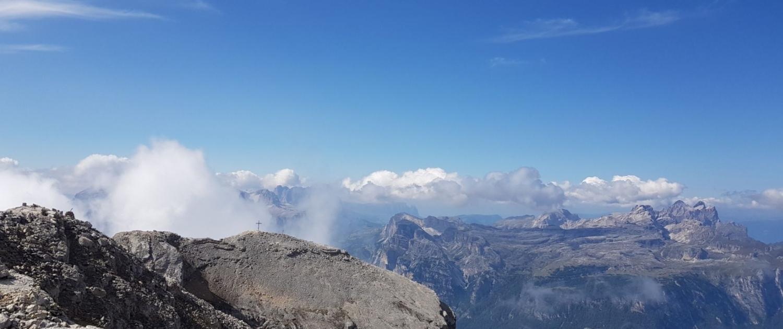 Wanderung Lavarela: Gipfelaussicht