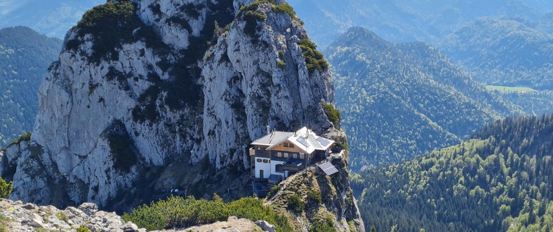 Wanderung auf den Roßstein - Tegernseer Hütte