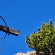 Wanderung auf den Roßstein - Gipfelkreuz