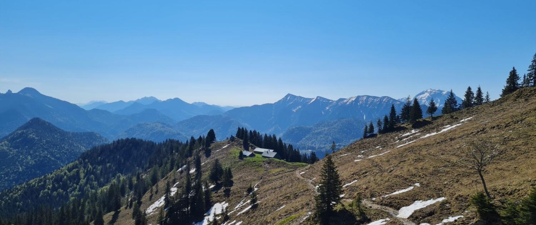 Wanderung auf den Roßstein - Hochleger Sonnbergalm
