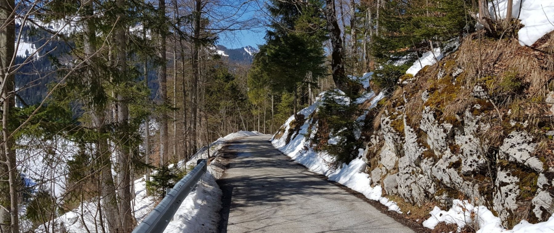 Winterwanderung Rotwand: Aufstieg