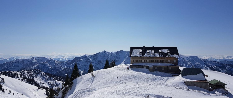 Winterwanderung Rotwand: Rotwandhaus