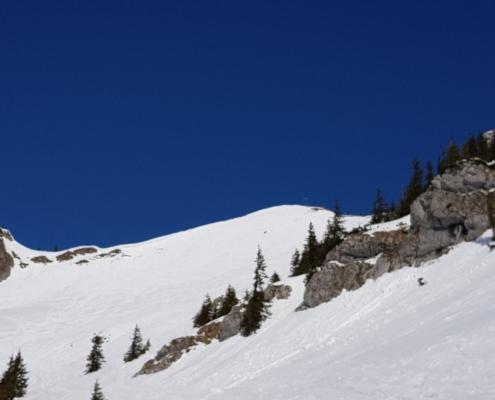 Winterwanderung Rotwand - Gipfel (1.884 m)