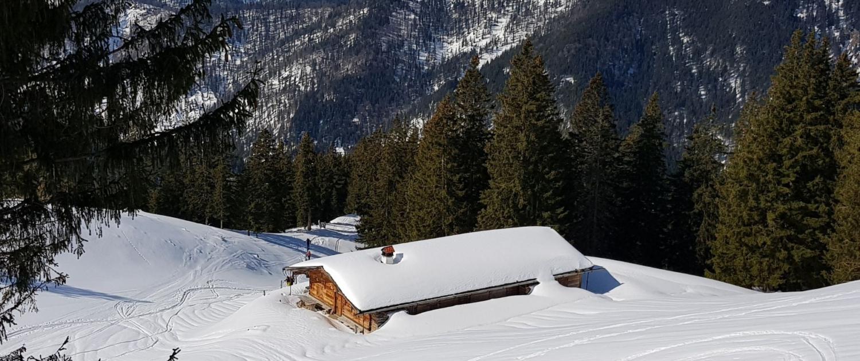 Winterwanderung Rotwand: Bodenfeldalm