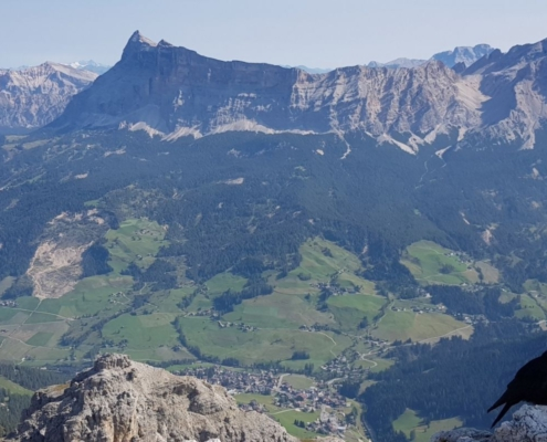 Wanderungen im Gadertal, Val Badia