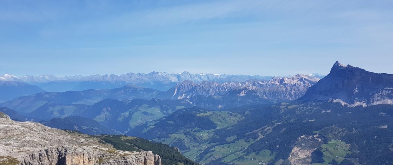 Meine TOP-3-Wanderungen im Gadertal - Sassongher, Gipfelblick