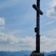 Wanderung auf den Schildenstein - Gipfelkreuz