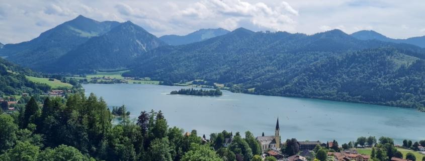 Wanderung um den Schliersee