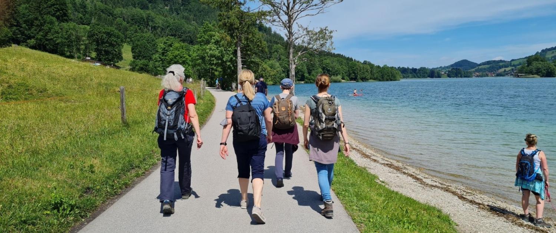 """Wanderung um den Schliersee - """""""",fim goes mountain Regionalgruppe München"""